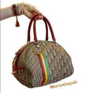🌈 Christian Dior Rasta Bowling Bag ⭐️